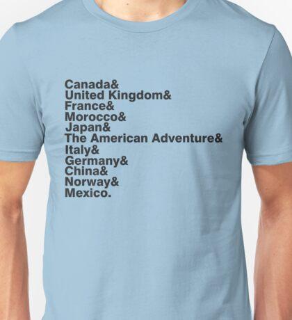 The World Showcase Unisex T-Shirt