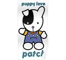 Puppy Love - Patch Poster