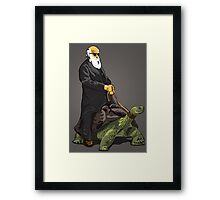 Galapagos Style Framed Print