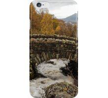 Ashness bridge, Lake district iPhone Case/Skin