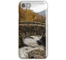 Ashness bridge, Lake district iPhone Case/Skin