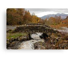 Ashness bridge, Lake district Canvas Print