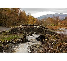 Ashness bridge, Lake district Photographic Print