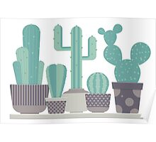 Cacti Party Poster