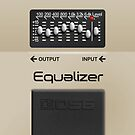 Boss Equalizer Pedal – iPhone 5 Case by Alisdair Binning