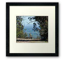 Miles away ! Framed Print