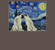 Starry Night Pugs Unisex T-Shirt