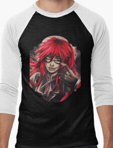 Black Butler: Grell Men's Baseball ¾ T-Shirt