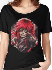 Black Butler: Grell Women's Relaxed Fit T-Shirt