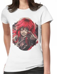 Black Butler: Grell Womens Fitted T-Shirt