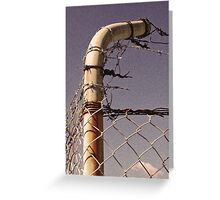 Fenced in/Fenced out Greeting Card