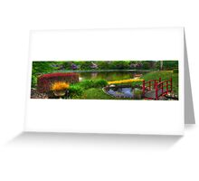 Bisley Gardens III - Mt Wilson NSW Australia - Panaroma  Greeting Card