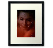 Movie Star from Hollwood. Framed Print