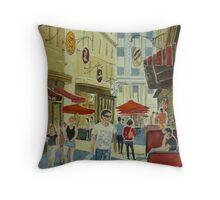 Degraves Street Melbourne Throw Pillow