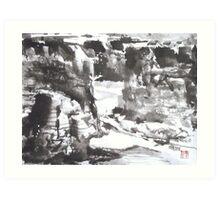 Canyon de Chelly, Navajo Nation, Arizona Art Print