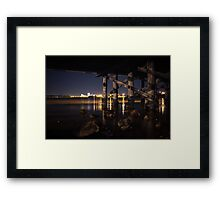 Under the Bridge // 5 Framed Print