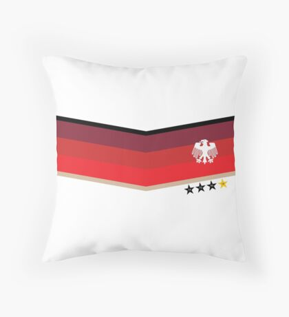 Germany Football V Jersey Throw Pillow