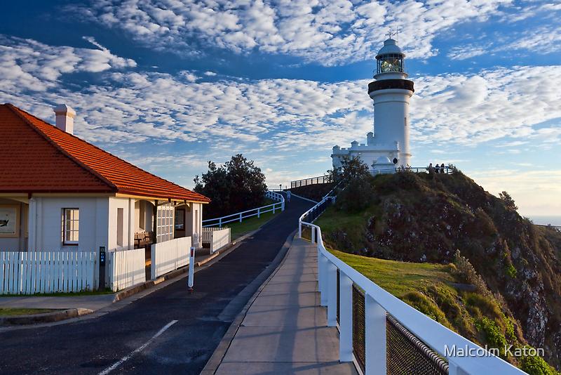 Byron Bay Lighthouse by Malcolm Katon