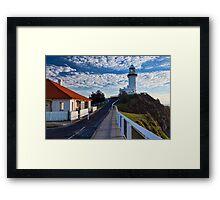 Byron Bay Lighthouse Framed Print