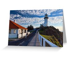 Byron Bay Lighthouse Greeting Card
