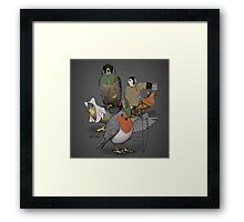 Robin and his merry friends. Framed Print