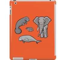 I Am Thankful For Paenungulates iPad Case/Skin