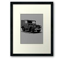 Land Rover, classic car Framed Print
