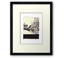 kokon 1061 Framed Print