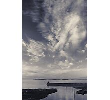 Dusk over harbour 2 Photographic Print