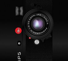 Like-a Leica Camera (Black) – iPhone 5 Case by Alisdair Binning