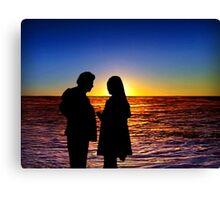Sunset 8 Canvas Print
