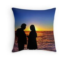 Sunset 8 Throw Pillow
