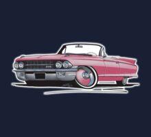 Cadillac Eldorado Biarritz (1962) Pink Kids Tee