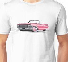 Cadillac Eldorado Biarritz (1962) Pink Unisex T-Shirt