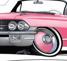 Cadillac Eldorado Biarritz (1962) Pink Sticker