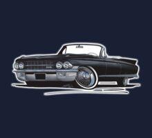 Cadillac Eldorado Biarritz (1962) Black Kids Tee
