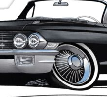 Cadillac Eldorado Biarritz (1962) Black Sticker
