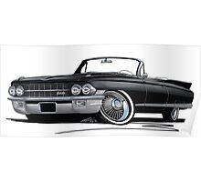 Cadillac Eldorado Biarritz (1962) Black Poster