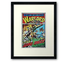 Warlord - Long Sally  Framed Print