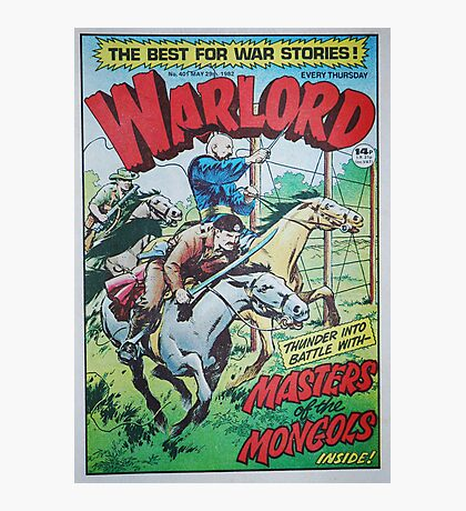 Warlord - Masters of the Mongols Photographic Print