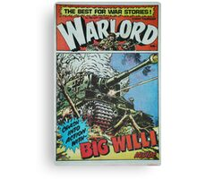 Warlord - Big Willi Canvas Print