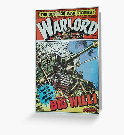 Warlord - Big Willi Greeting Card