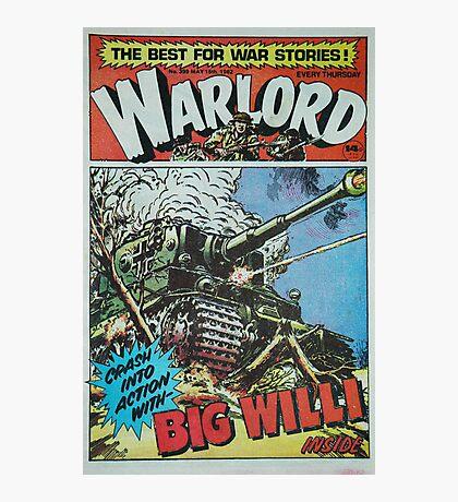 Warlord - Big Willi Photographic Print