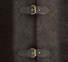 Black Leather Satchel  by Alisdair Binning