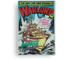 Warlord - Drake Canvas Print