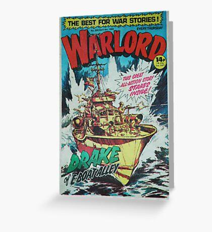 Warlord - Drake Greeting Card