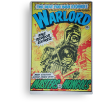 Warlord - The Terror Express Canvas Print