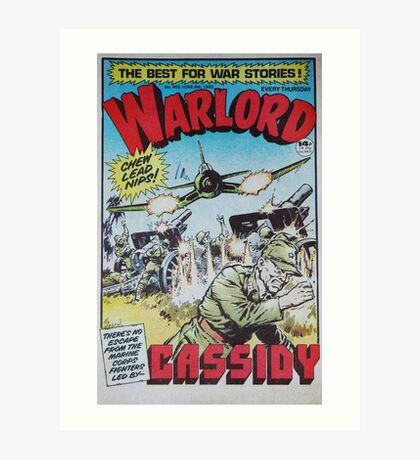Warlord - Cassidy Art Print