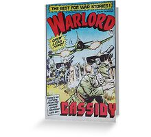 Warlord - Cassidy Greeting Card