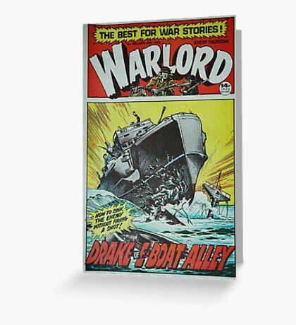 Warlord - Drake 2 Greeting Card